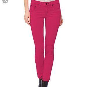 RAG & BONE Skinny Ankle Legging Jean PFD Pink 29